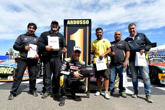 Ardusso hizo la pole en el Parque Provincial de Neuquén
