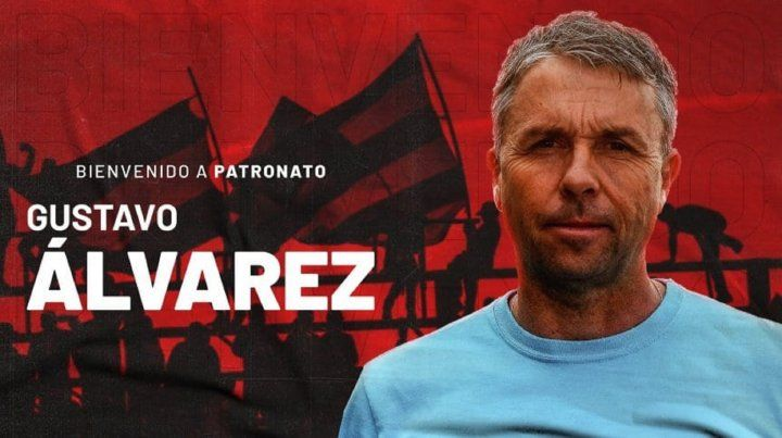 Gustavo Álvarez, nuevo entrenador de Patronato