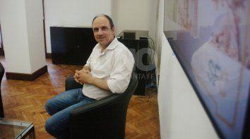 El intendente, José Corral, finaliza su mandato el 10 de diciembre. Foto: José Busiemi.