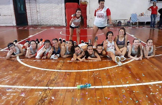 Santa Rosa se llevó la Copa de Plata en el Dos Orillas Femenino U13