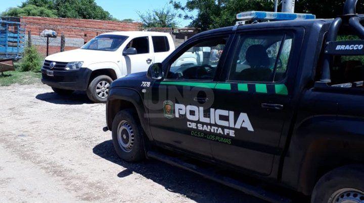 El procedimiento fue realizado por la Guardia Rural Los PUmas.