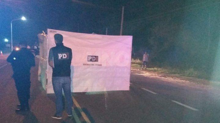 Imágenes del accidente fatal sobre la Ruta Nº1