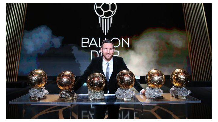 ¡Lionel Messi ganó su sexto Balón de Oro!