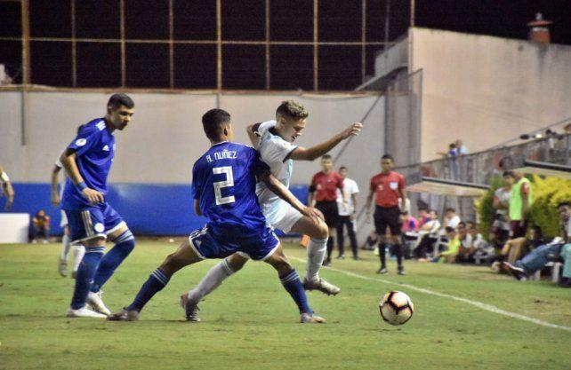 Argentina empató con Paraguay y es semifinalista del Sudamericano Sub 15