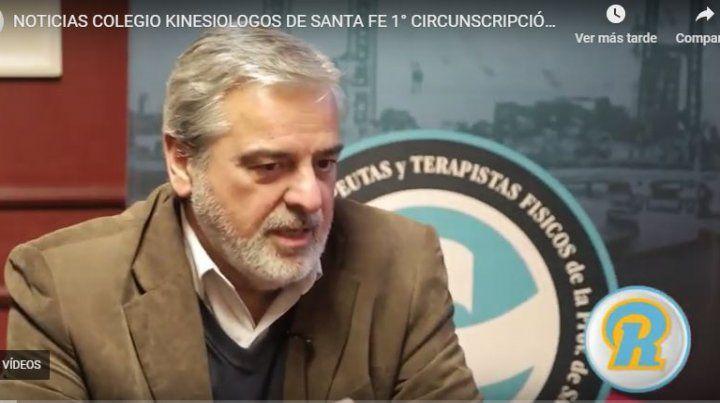 Roles y Funciones del Colegio de Kinesiológos de Santa Fe