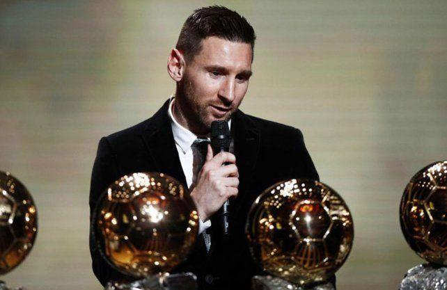 Se conoció la diferencia de votos por las que Messi se llevó el Balón de Oro