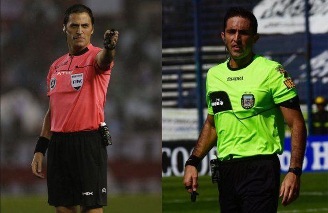 Dos cuestionados árbitros estarán en los duelos de Colón y Unión