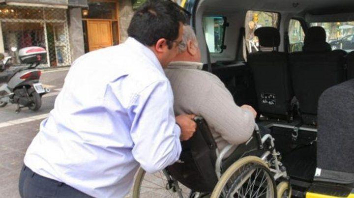 Transporte especializado de personas con discapacidad.