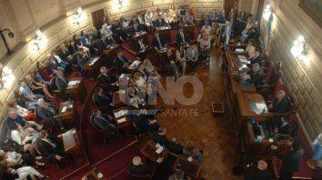 Este miércoles juraron los 19 senadores electos.
