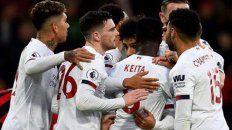 Liverpool sigue a paso firme en la Premier League