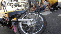 accidentes: al cullen ingresan por dia 9 motociclistas