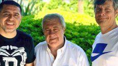 ameal es el nuevo presidente de boca con riquelme como dirigente