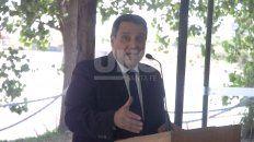 Leonardo Ricciardino, el vocero del gobierno de Omar Perotti. Foto: José Busiemi.