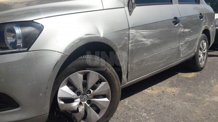 Un colectivo perdió el control por un desperfecto mecánico en San Jerónimo al 3500