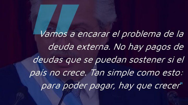 Las principales frases de Fernández