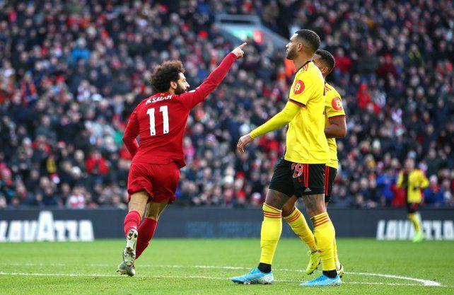 Liverpool venció a Watford y nadie lo baja de la cima
