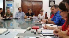 Jatón lideró la primera reunión de gabinete municipal