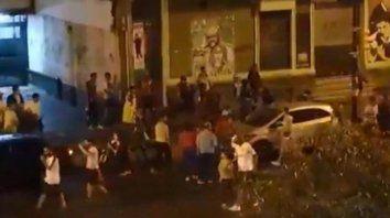 tragicos festejos: un hincha de nacional fue asesinado despues de ganar el campeonato