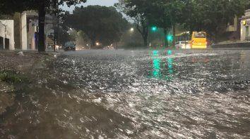 Diluvió en Santa Fe