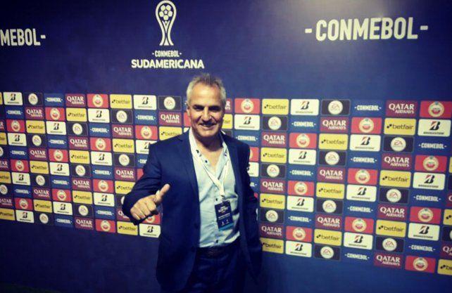 Madelón habló de la Sudamericana y de la llegada de Azconzábal como DT de Unión.