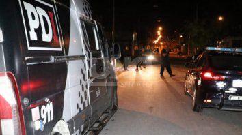 El hombre fue baleado en Uruguay al 4100.