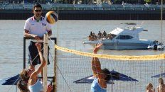 una dupla mendocina se impuso en las playas santafesinas