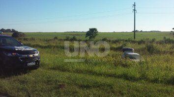 El accidente se produjo a la altura del kilómetro 290 de la ruta provincial Nº1.