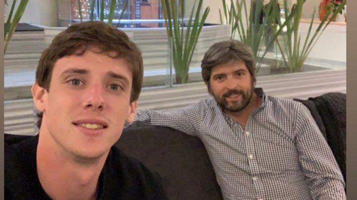 Conti llegó a México para ponerse la rojinegra de Atlas
