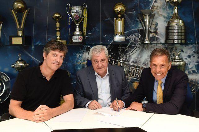 Russo: Ojalá podamos ganar la Libertadores