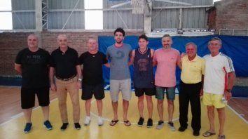 el quilla presento el nuevo plantel de tecnicos de basquet para 2020