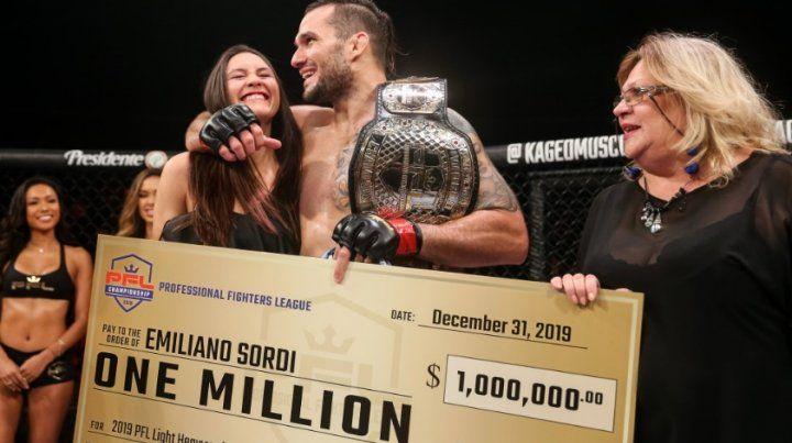 VIDEO: Un cordobés ganó un millón de dólares con un brutal KO