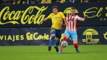 colon pone la mira en un uruguayo que juega en espana