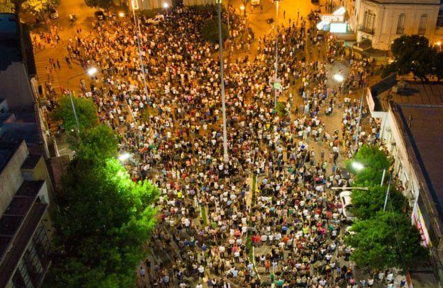 Histórica movilización en Rafaela.