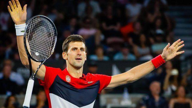Serbia superó a Sudáfrica con un implacable Djokovic