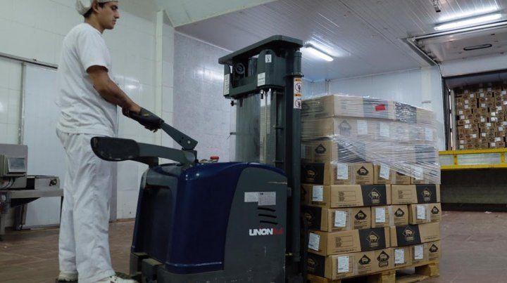 Un frigorífico santafesino envió su primera exportación a China