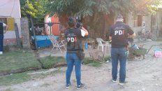El lugar en dónde sucedió el crimen en barrio La Tablada.