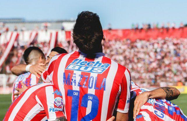 Mazzola quedó en la historia de Unión con goles importantes.