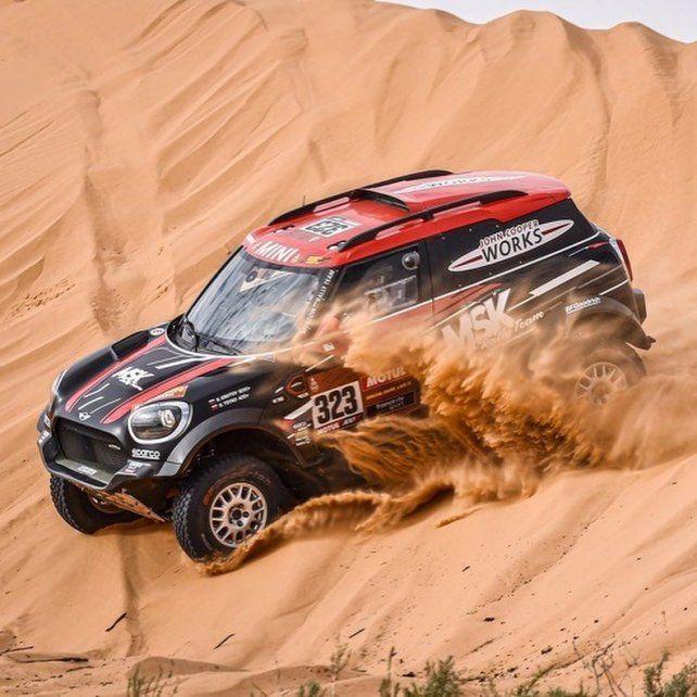 Terranova terminó noveno en la sexta etapa del Rally Dakar