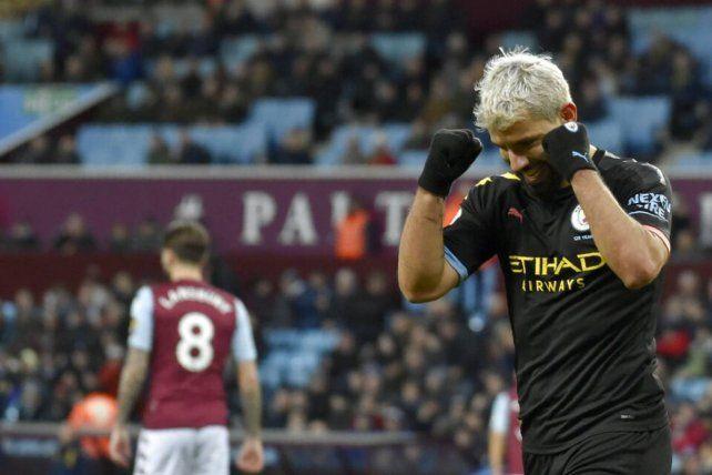 La emoción que invade a Sergio Agüero en la Premier League
