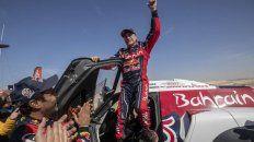 Sainz se quedó por tercer vez con el Rally Dakar
