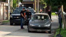 El auto incendiado en barrio Guadalupe