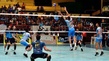 bolivar llego a las 13 victorias seguidas en la liga nacional de voley