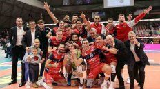 el perugia de de cecco sigue imparable en la superlega de italia