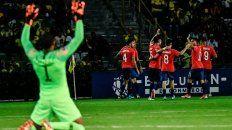 chile llega entonado al duelo con argentina en colombia