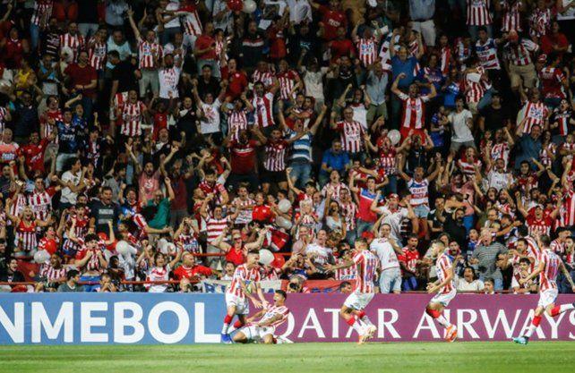 Unión dio la nota en la Sudamericana que organiza la Conmebol en la Fase 1.