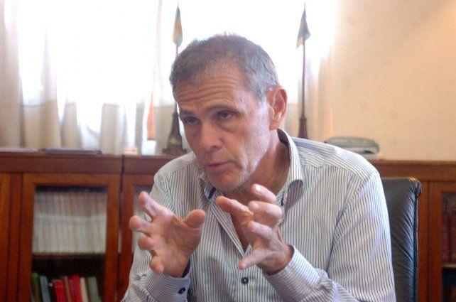 El ministro de Gobierno acordó los ejes del encuentro entre Perotti y Miguel Lifschitz.