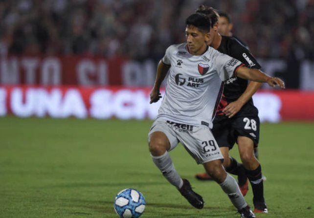 Aliendro se perdió por lesión la final de la Sudamericana que jugó Colón.