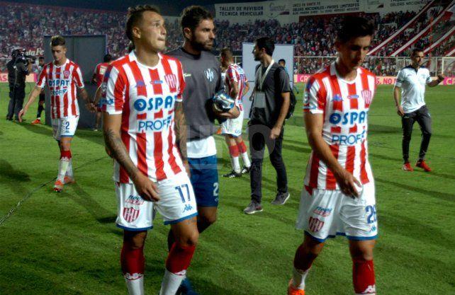 Unión mostró mejores cosas en los segundos tiempos. UNO Santa Fe   José Busiemi