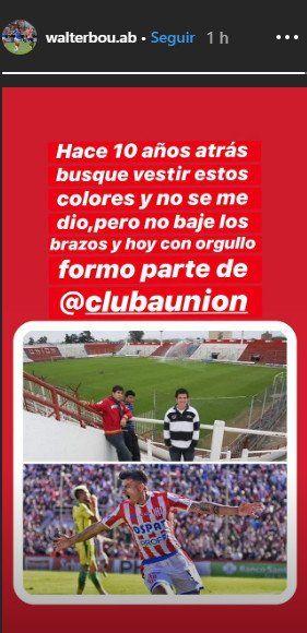 Walter Bou fue el refuerzo más importante para la presente Superliga  Foto: Instagram walterbou.ab