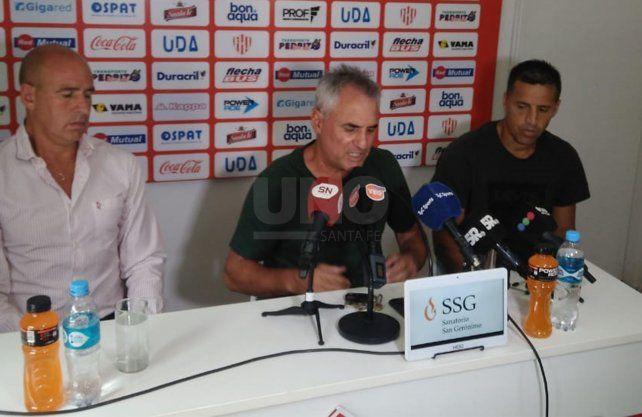 Leonardo Madelón decidió ponerle punto final a su tercer ciclo en Unión.